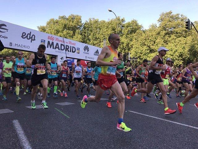 Maratón de Madrid inscripciones