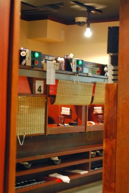 Private booth, Ichiran Ramen. Tokyo Consult, TokyoConsult