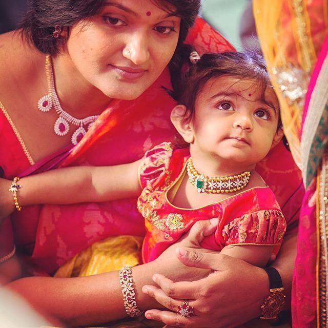 Bhargavi Kunam in Diamond Choker