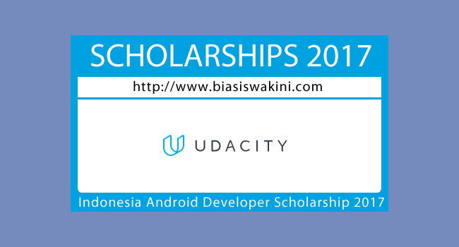 Indonesia Android Developer Scholarship 2017