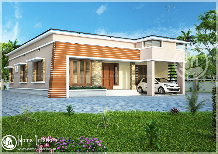 35 small and simple but beautiful house with roof deck for Kerala home designs low cost