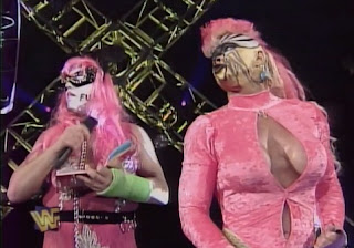 WWE / WWF - In Your House 19: D-Generation-X - Goldust (w/ his Femdom Mistress Luna Vachon) reads Green Eggs & Ham