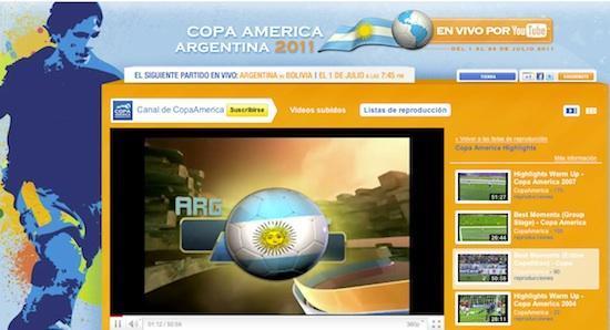 Ver Copa América Argentina 2011 en vivo