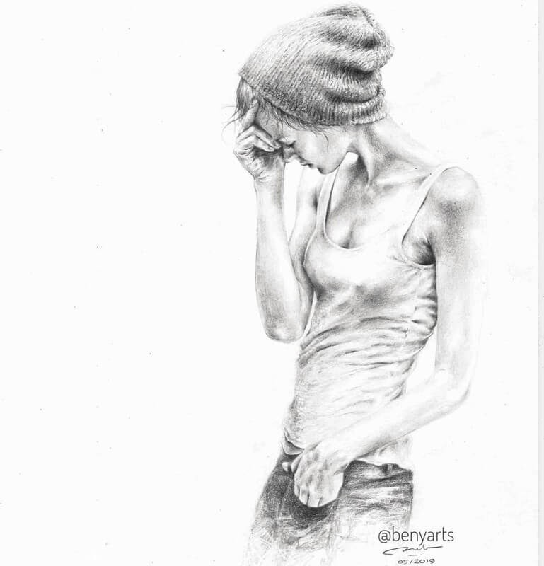 06-Benyarts-Expressions-and-Feelings-in-Graphite-Drawings