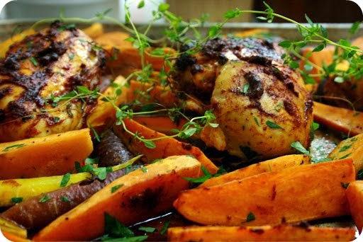 Chicken Dinner Overloaded Nogla S Brain