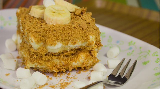 This is the recipe of Banana Graham Float.