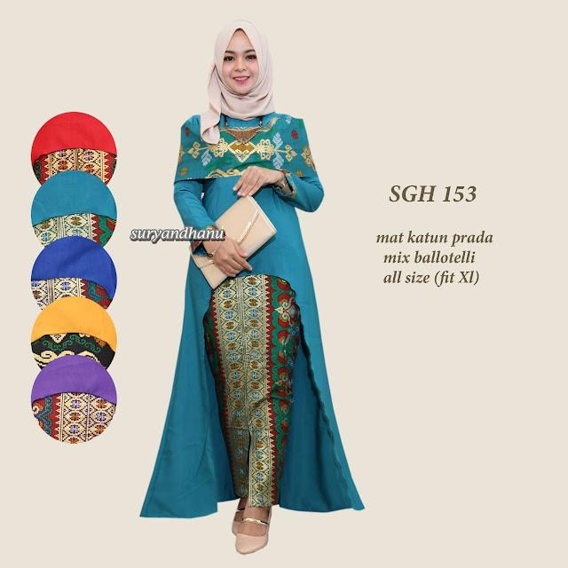 Baju batik modern cewek