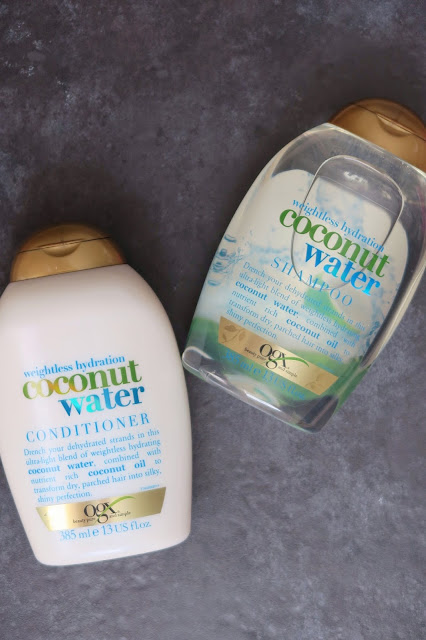 OGX Weightless Hydration Coconut Water Shampoo & Conditioner Review