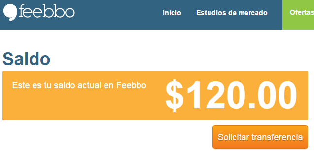 Saldo Feebo
