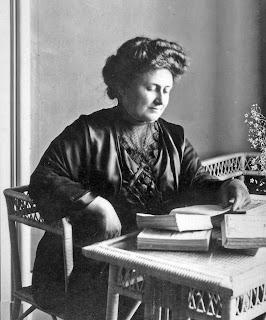 Maria Montessori in Rome in 1913