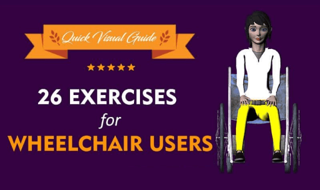 26 Exercises for Wheelchair Users