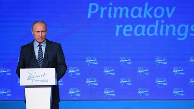 Putin: Rusia, dispuesta a hacer su parte para normalizar con EEUU