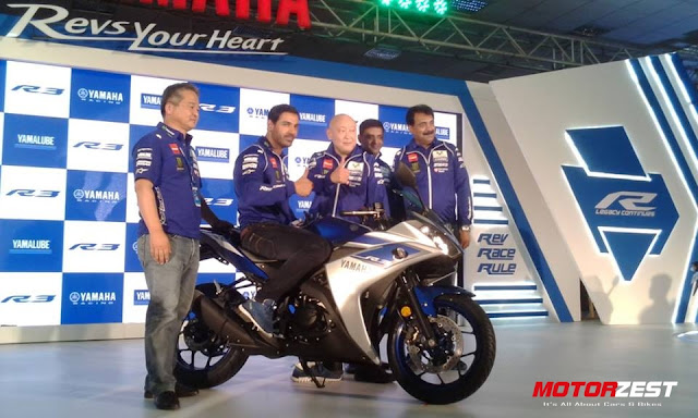 John Abraham at Yamaha R3 launch in India