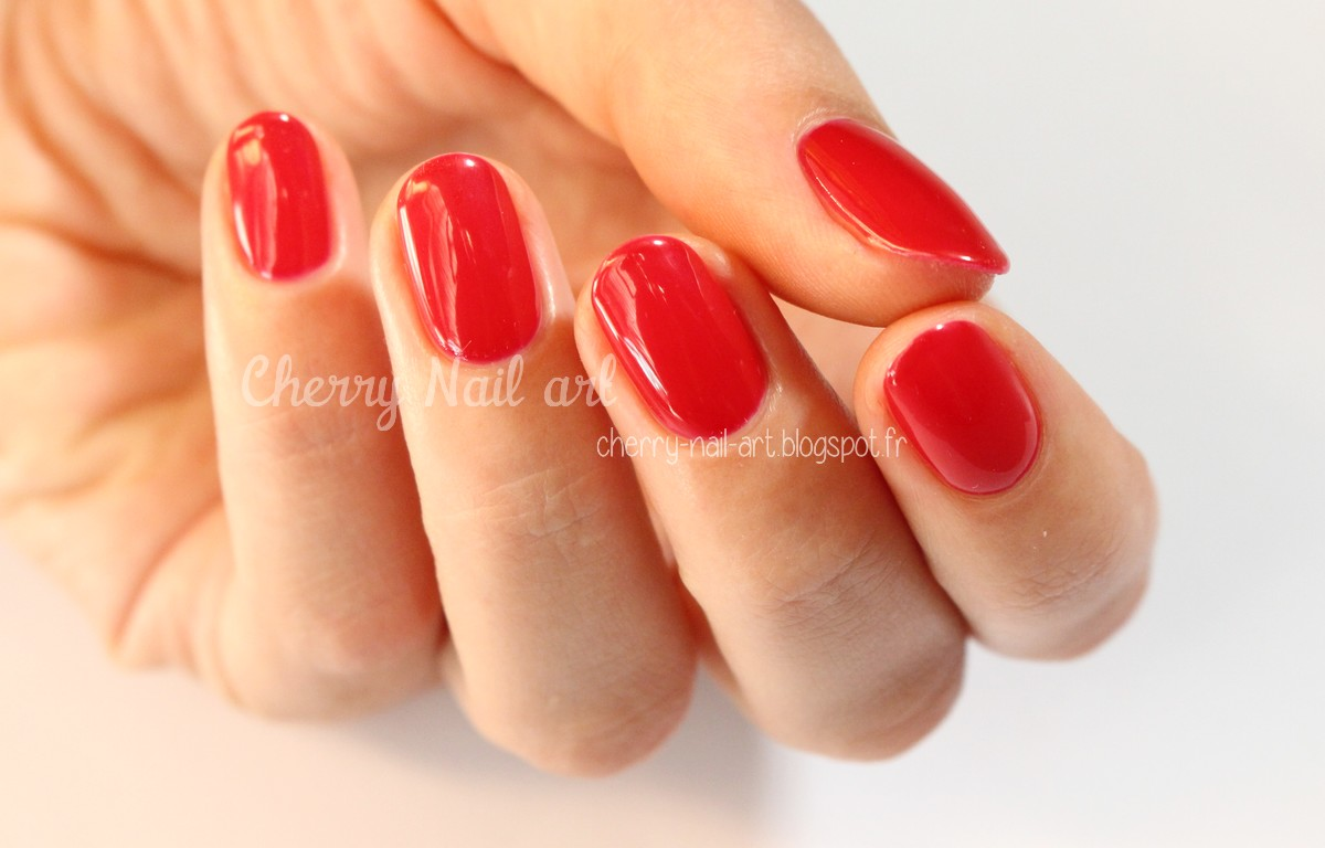 vernis permanent wonderlack bna wild red