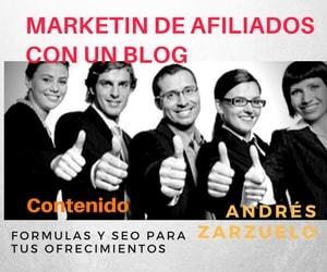 Seo con un blog de marketing de afiliación, afiliación para principiantes. Guía completa de BGSW por Andrés Zarzuelo.