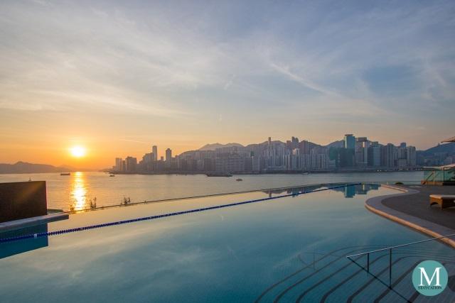 Swimming Pool Kerry Hotel Hong Kong