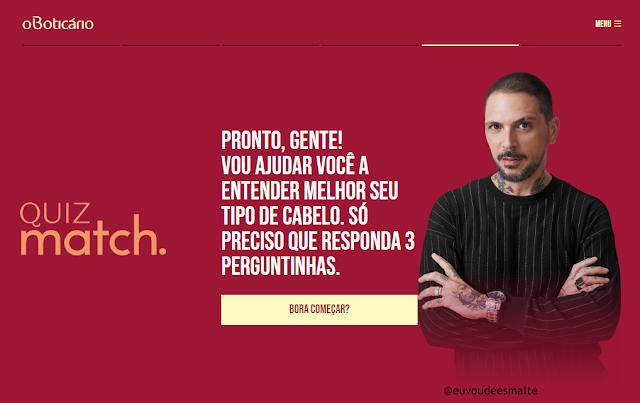 Brinde Grátis O'Boticário 2019 - Match Liga dos Coloridos