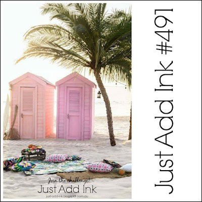 Jo's Stamping Spot - Just Add Ink Challenge #491