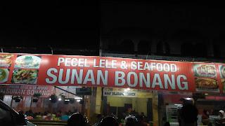 Pecel lele & seafood Sunan Bonang