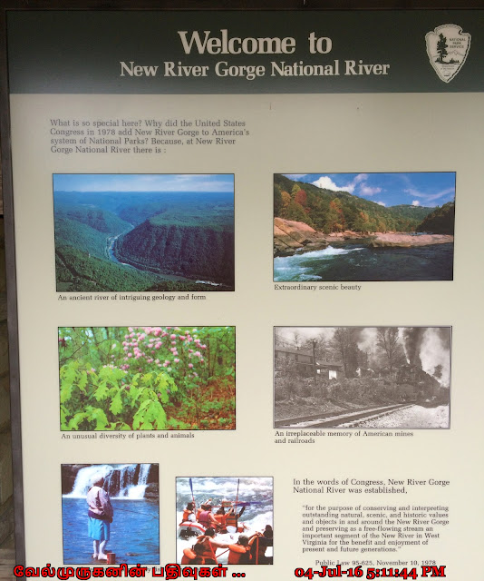 New River Gorge Nation River Bridge