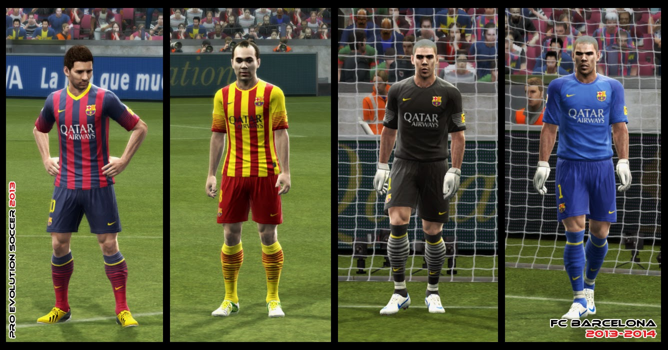 BARCELONA NOVO DOWNLOAD 2013 DO UNIFORME GRÁTIS PES PARA