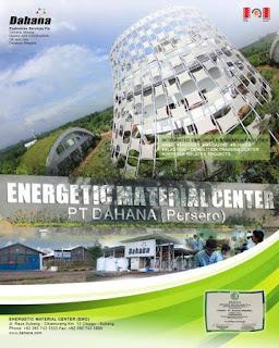 Energetic Material Center (EMC) milik PT DAHANA (Persero)