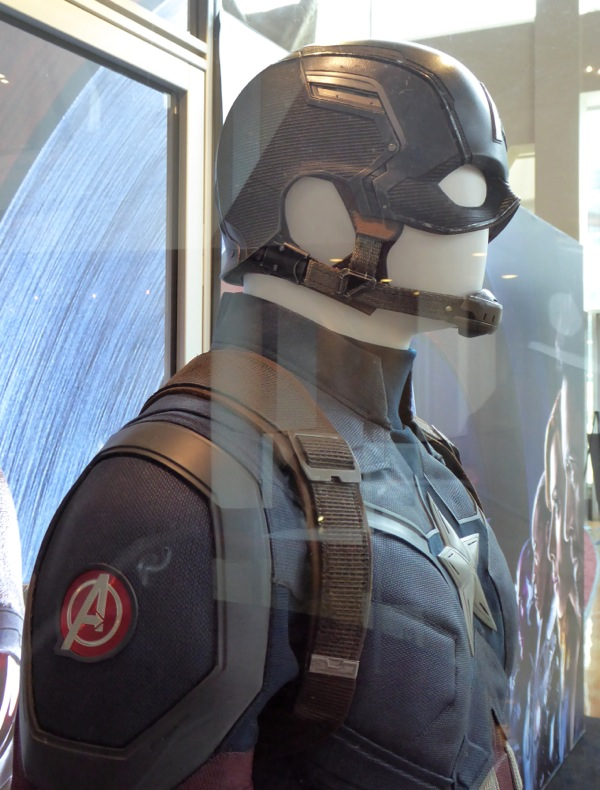 Captain America Civil War costume helmet detail