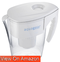 Aquagear Best Water Filter Pitcher Review 2018