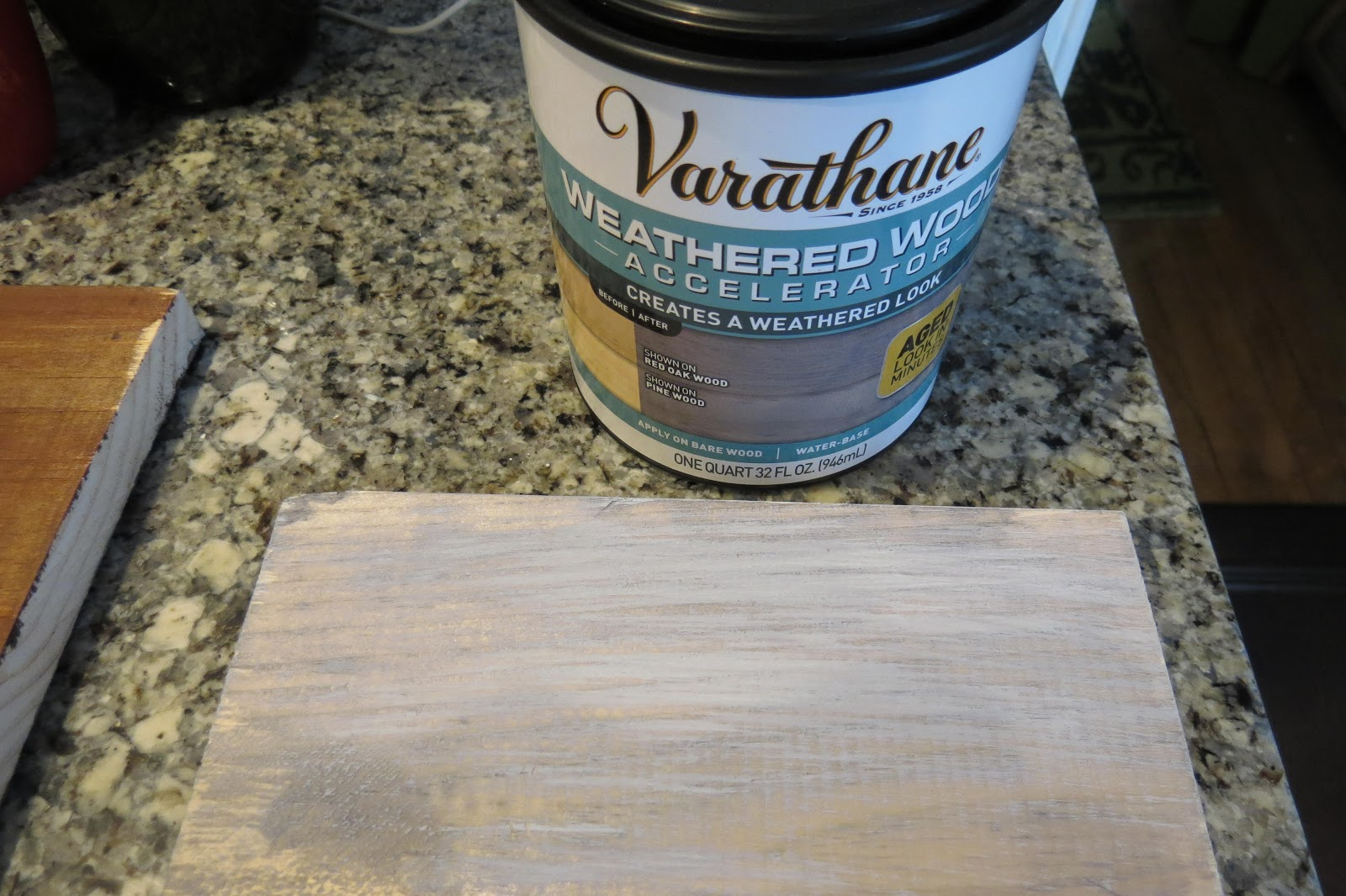Weathered Wood Accelerator Varathane