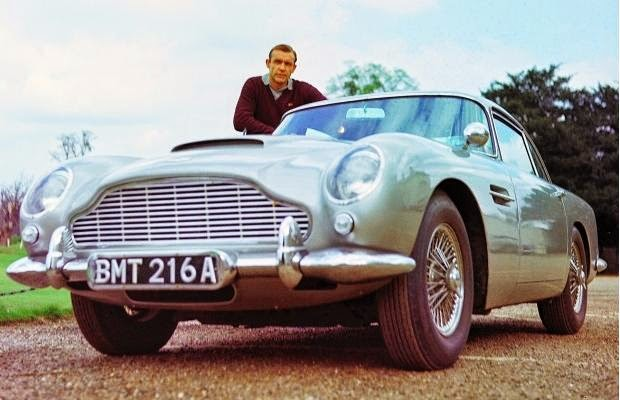 Sean Connery Goldfinger Aston Martin