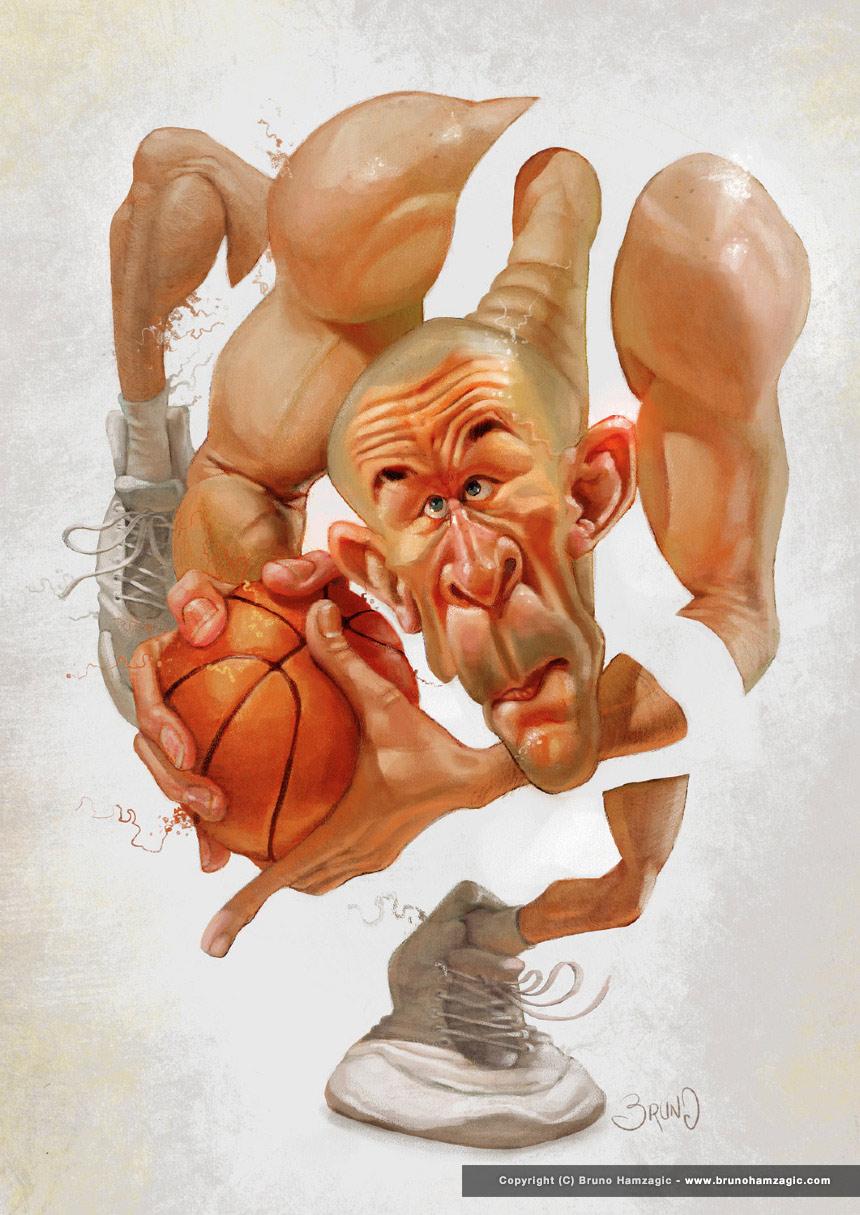 """Jason Kidd"" por Bruno Hamzagic"