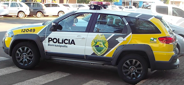 Borrazópolis:Filho ameaça a mãe e teve furto a residência