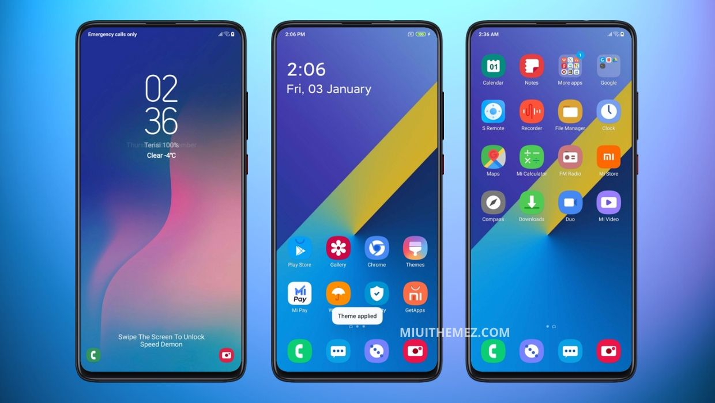 Samsung Galaxy A30 V11 MIUI Theme