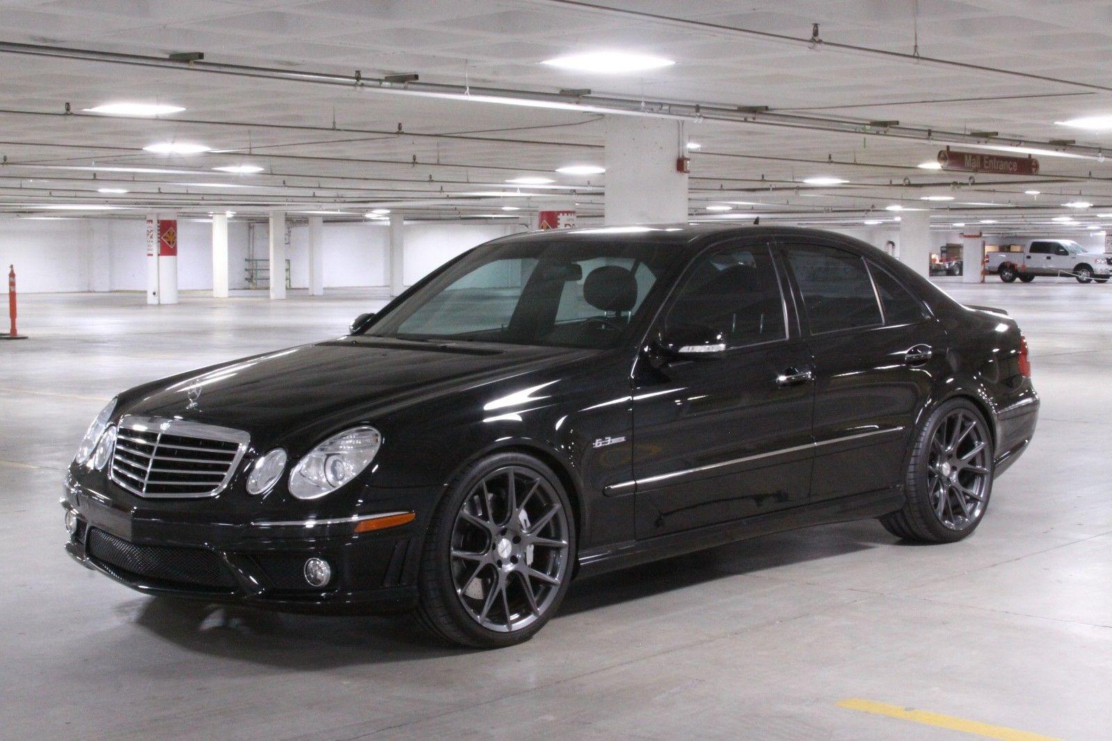 """2007 Mercedes-Benz W211 E63 AMG on 20"""" Vossen VFS6 Wheels ..."""