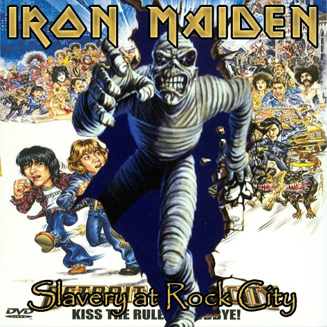 Iron Maiden World Slavery Tour Setlist