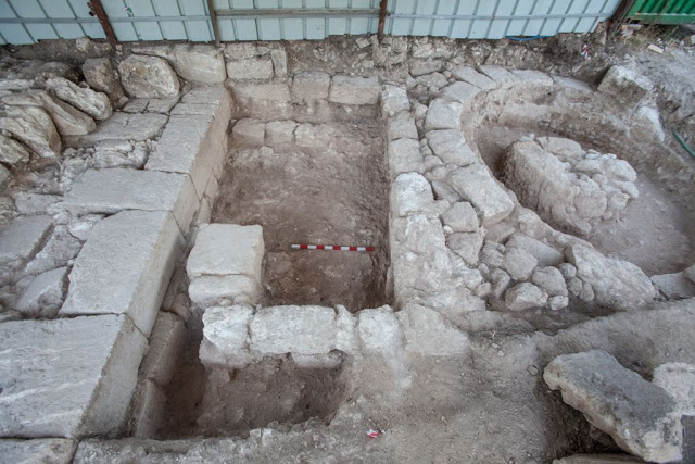 Remains of Roman-era gate discovered at Israel's Beit She'arim