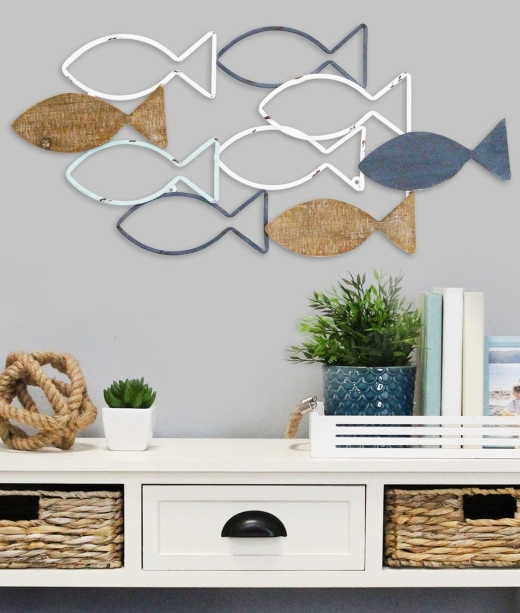 School of Fish Wall Art