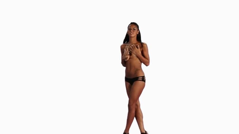 Skinney brunette milf video