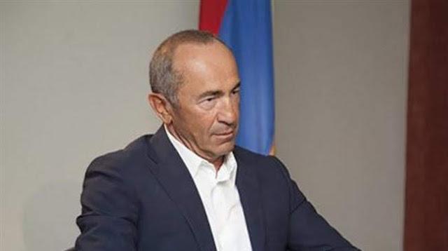 Robert Kocharyan fue detenido
