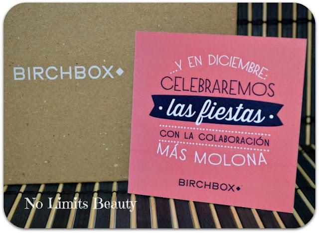 Anuncio colaboración - BirchBox diciembre 2014