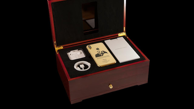 Dibalut dengan Emas 24K, iPhone X Edisi Royal Wedding Hanya Tersedia 99 Unit