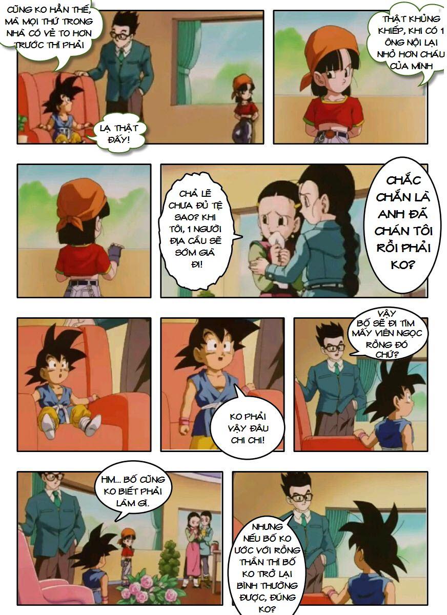 Dragon Ball GT chap 3 - Trang 19