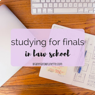 studying for finals in law school. law school finals. law school studying. law student studying. law school exams. law school tests. law school blog. law student blogger | brazenandbrunette.com
