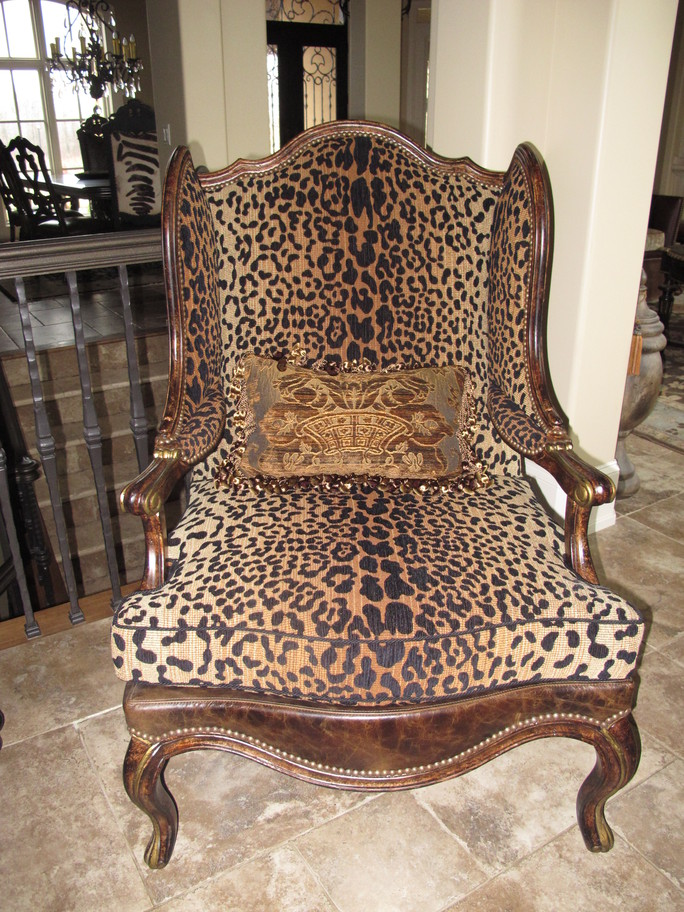 Projects Plenty Leopard Print Chair