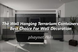 The Wall Hanging Terrarium Containers Best Choice For Wall Decoration