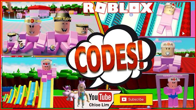 Roblox Baby Simulator Gameplay 5 Codes Wee Wee Wee Wee Wee Baby