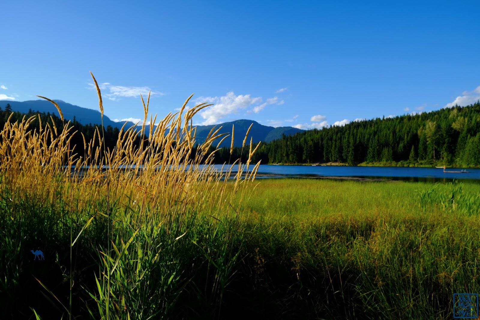 Le Chameau Bleu - Blog Voyage Canada Colombie Britannique -Lost Lake Whistler
