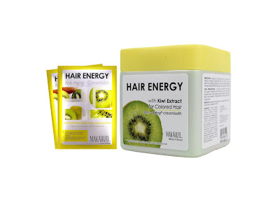 Makarizo Hair Energy Creambath Kiwi Extract