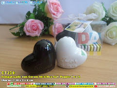 Tempat Lada Dan Garam Mr N Mrs Salt Pepper Heart