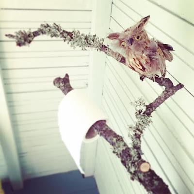 vessapaperiteline, pöllö